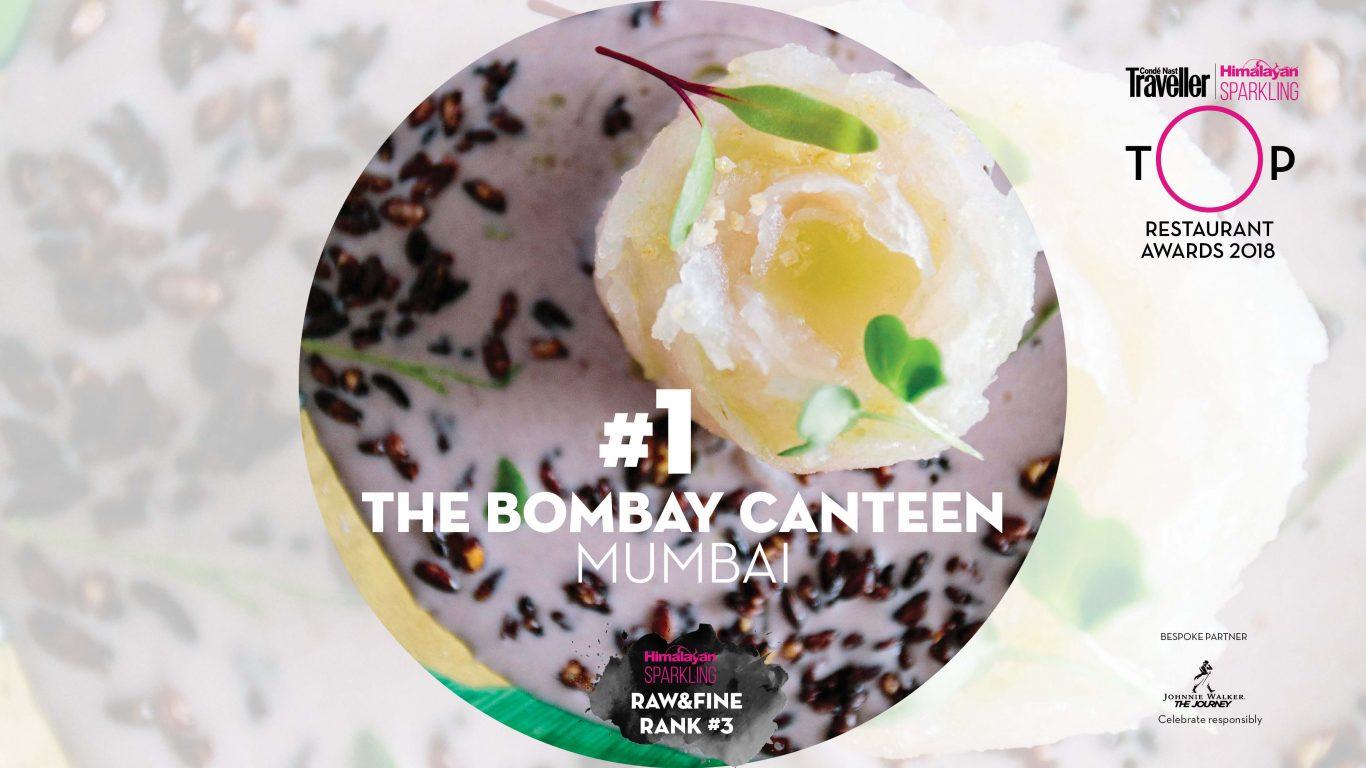 The Bombay Canteen, Mumbai, #1 on Top Restaurant Awards 2018 List